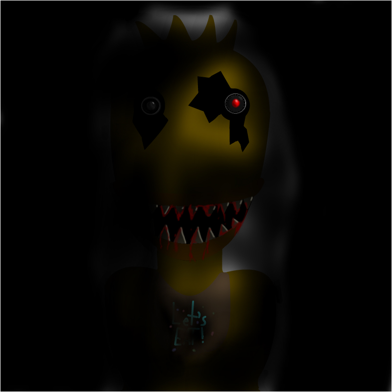Fnaf 4 chica slimber com drawing and painting online