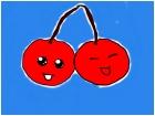 Cute Chibi Sister Cherries