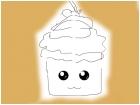 Cute Chibi Cupcake