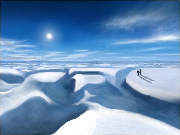 Snowy Cliffs (somrigost's request)