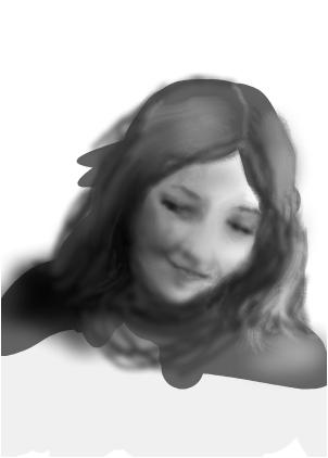 Creepy Girl Sketch