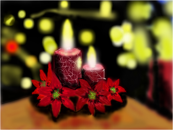 Candles- Symbol of love