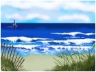 Calm Day at the Beach