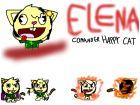 Elena comander Happy Cat
