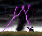 Tornado and lighting