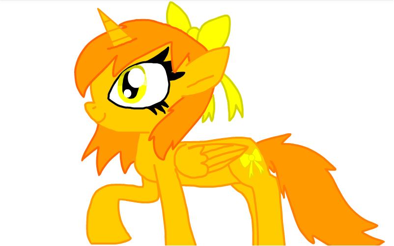 Daisy as a Pony