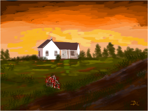 House on a Dirt Road
