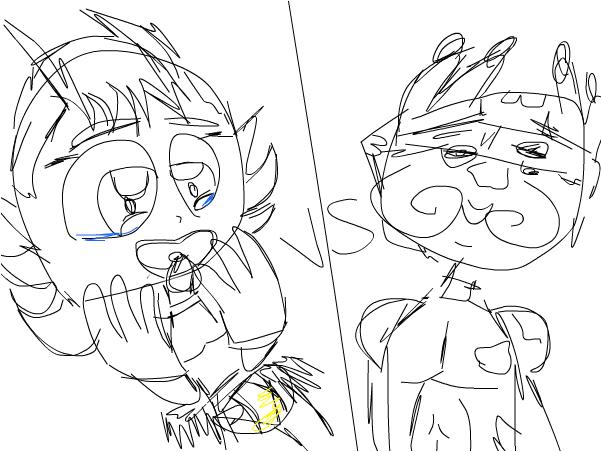 vixx baby vs zuma guy