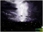 A thunderous evening..